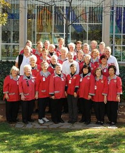 Friends of the Queen Elizabeth Hospital volunteers