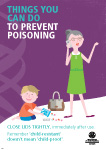 Things you can do to prevent poisoning. Close lids tightly immediately after use